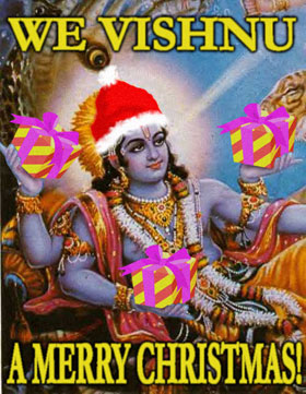 We Vishnu a Merry Christmas
