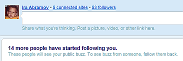 Why would so many want to follow my buzzer?