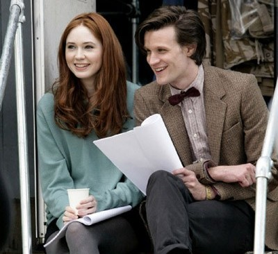 Karen and Matt, Amy and Doctor
