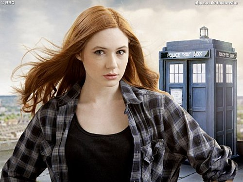 Karen and the TARDIS