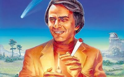 Carl Sagan and a Joint